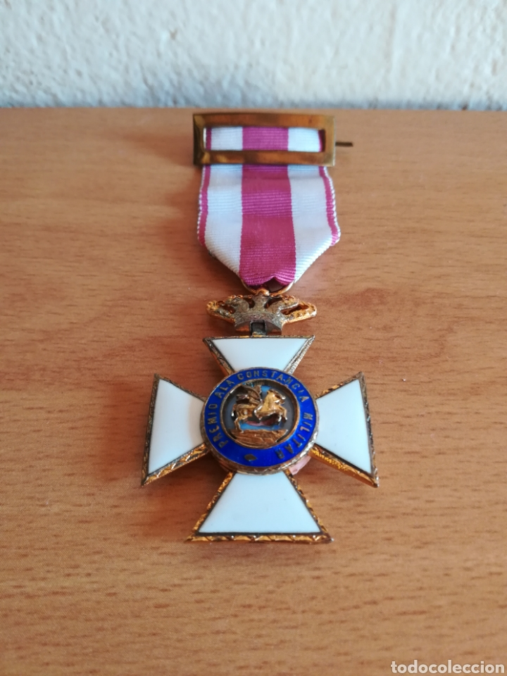 Militaria: Medalla Orden de San Hermenegildo Premio a la Constancia Militar Fernando VII - Foto 3 - 175228264