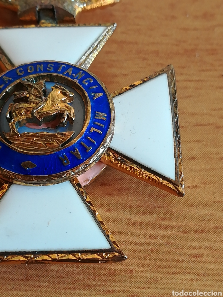Militaria: Medalla Orden de San Hermenegildo Premio a la Constancia Militar Fernando VII - Foto 5 - 175228264