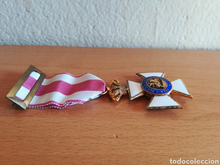 Militaria: Medalla Orden de San Hermenegildo Premio a la Constancia Militar Fernando VII - Foto 7 - 175228264
