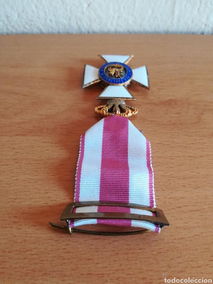 Militaria: Medalla Orden de San Hermenegildo Premio a la Constancia Militar Fernando VII - Foto 9 - 175228264