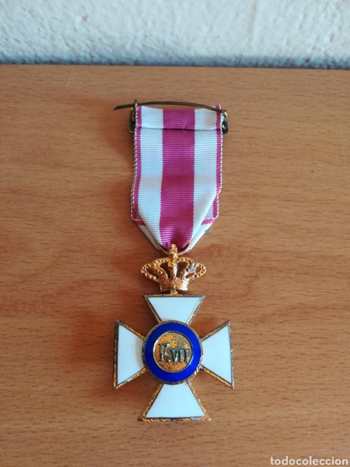 Militaria: Medalla Orden de San Hermenegildo Premio a la Constancia Militar Fernando VII - Foto 12 - 175228264