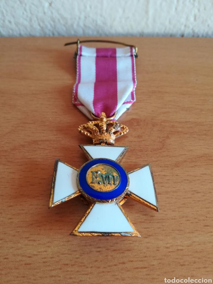 Militaria: Medalla Orden de San Hermenegildo Premio a la Constancia Militar Fernando VII - Foto 14 - 175228264