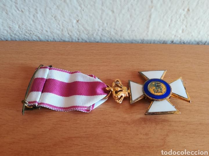 Militaria: Medalla Orden de San Hermenegildo Premio a la Constancia Militar Fernando VII - Foto 15 - 175228264