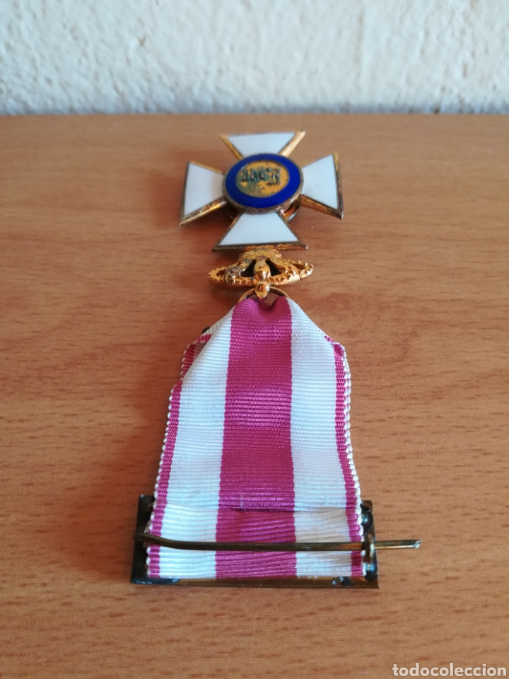 Militaria: Medalla Orden de San Hermenegildo Premio a la Constancia Militar Fernando VII - Foto 17 - 175228264