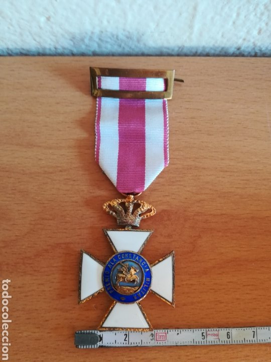Militaria: Medalla Orden de San Hermenegildo Premio a la Constancia Militar Fernando VII - Foto 26 - 175228264