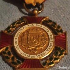 Militaria: MEDALLA VOLUNTARIOS DE ÁLAVA. Lote 175300373