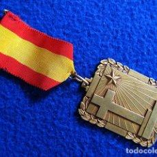 Militaria: MEDALLA BRONCE ESCUELAS CRISTIANAS (SIGNUM FIDEI). PIEZA ORIGINAL. ÉPOCA FRANCO. AÑOS 50S-60S. Lote 175353412