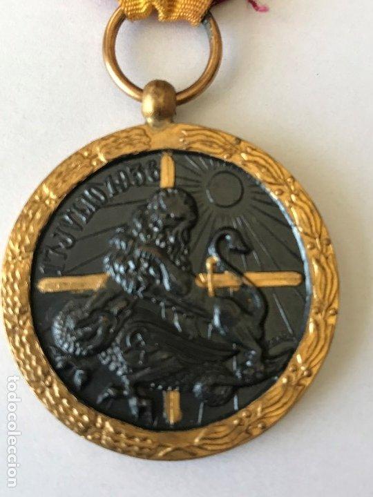 MEDALLA DE LA CAMPAÑA GUERRA CIVIL. 17 JULIO DE 1936. INDUSTRIAS EGAÑA (Militar - Medallas Españolas Originales )