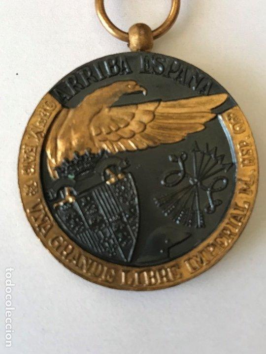 Militaria: Medalla de la Campaña Guerra Civil. 17 Julio de 1936. Industrias Egaña - Foto 3 - 175508779