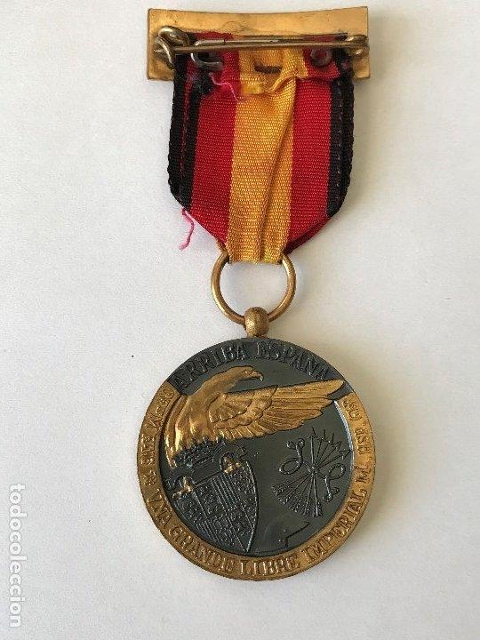 Militaria: Medalla de la Campaña Guerra Civil. 17 Julio de 1936. Industrias Egaña - Foto 4 - 175508779