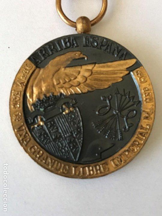 Militaria: Medalla de la Campaña Guerra Civil. 17 Julio de 1936. Industrias Egaña - Foto 5 - 175508779