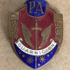 Militaria: PLACA POLICÍA ARMADA GUARNICIÓN. Lote 175667208