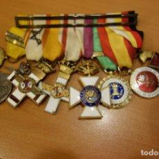 Militaria: LOTE DE INSIGNIAS Y MEDALLAS MILITARES DE CORONEL. Lote 175776320