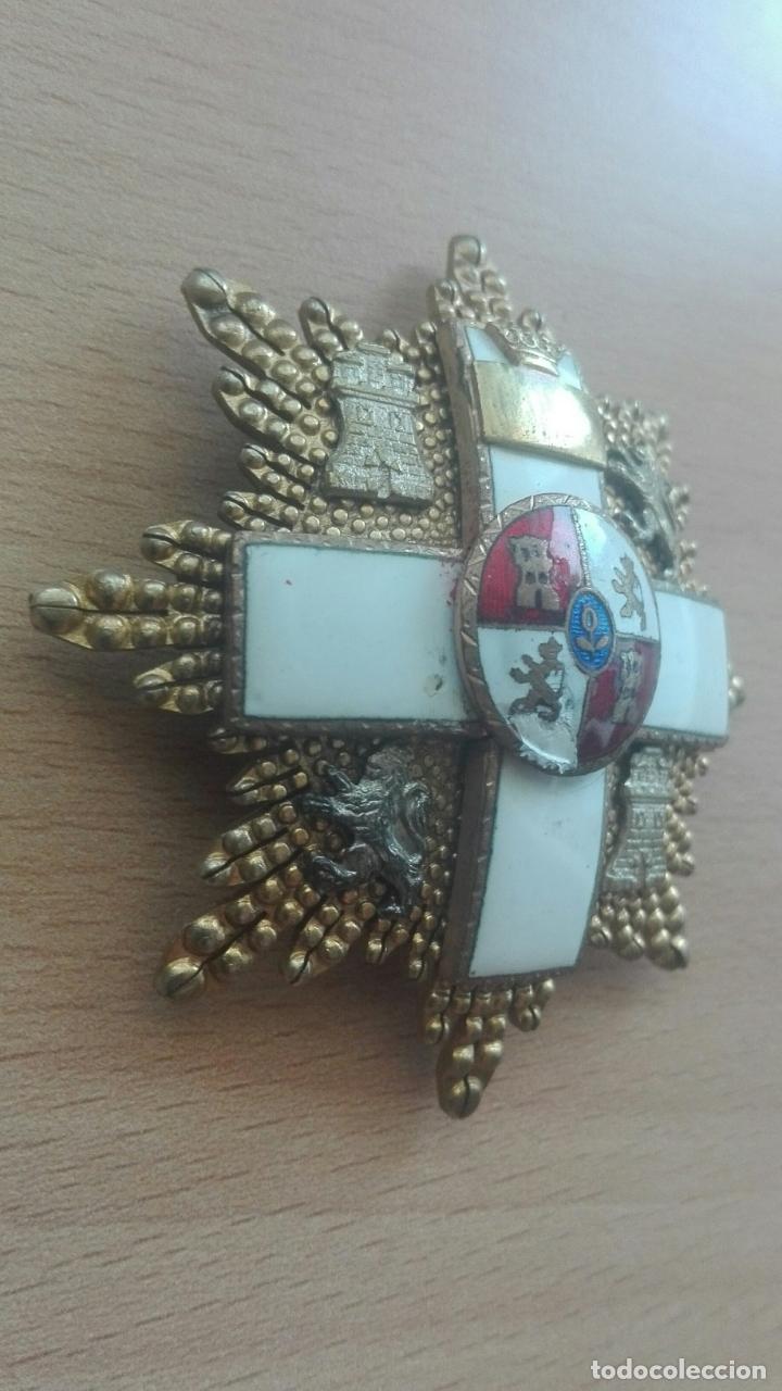 Militaria: Placa Gran Cruz Mérito Militar. Época Franco - Foto 2 - 175801057
