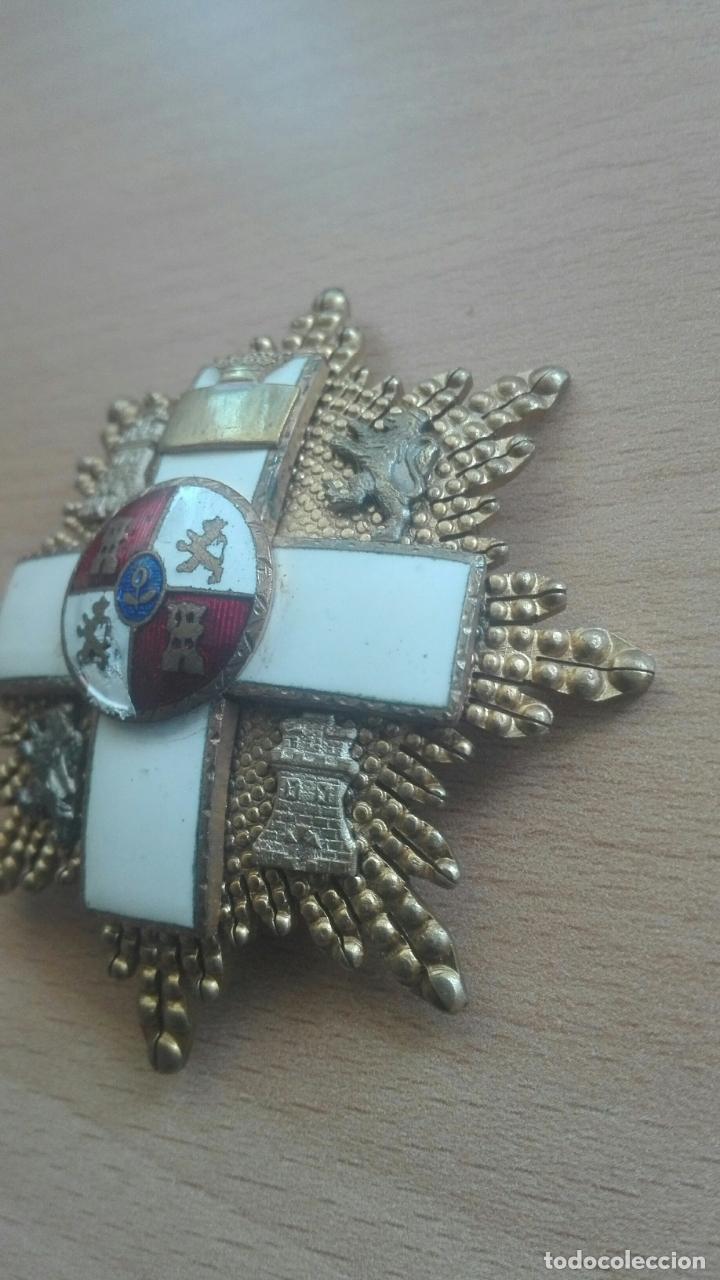Militaria: Placa Gran Cruz Mérito Militar. Época Franco - Foto 3 - 175801057