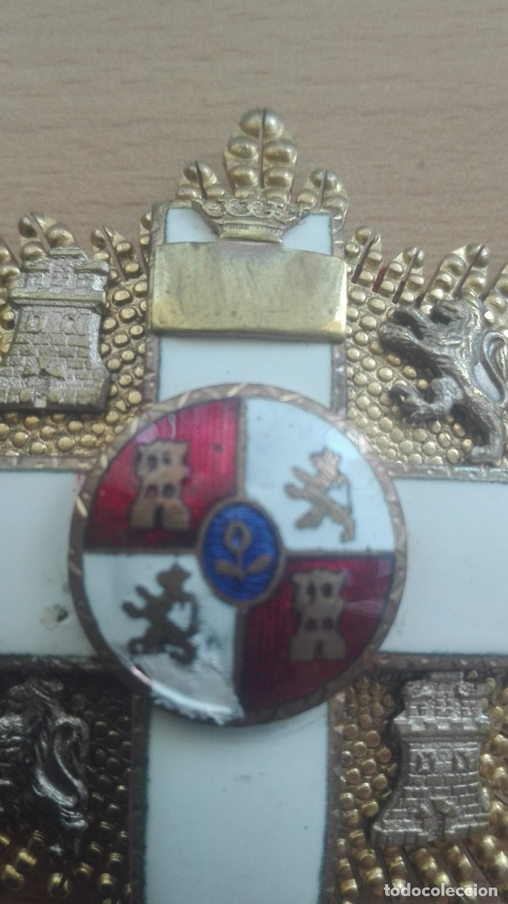 Militaria: Placa Gran Cruz Mérito Militar. Época Franco - Foto 5 - 175801057
