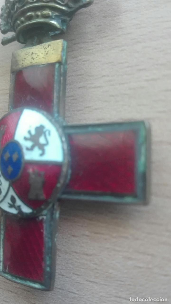 Militaria: Medalla Mérito Militar roja. Época Alfonso XII - Foto 4 - 175848945