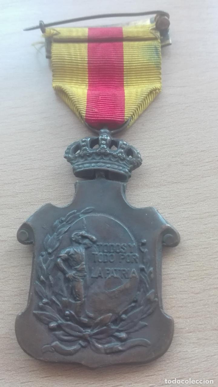 Militaria: Medalla de los Ayuntamientos. Época Alfonso XIII - Foto 2 - 175855218
