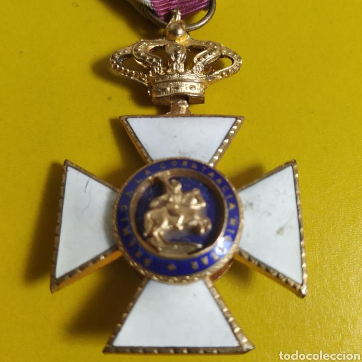 Militaria: Medalla de la real orden de San Hermenegildo.Premio a la constancia militar - Foto 2 - 175977279