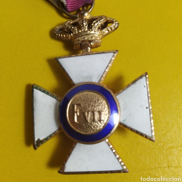 Militaria: Medalla de la real orden de San Hermenegildo.Premio a la constancia militar - Foto 4 - 175977279
