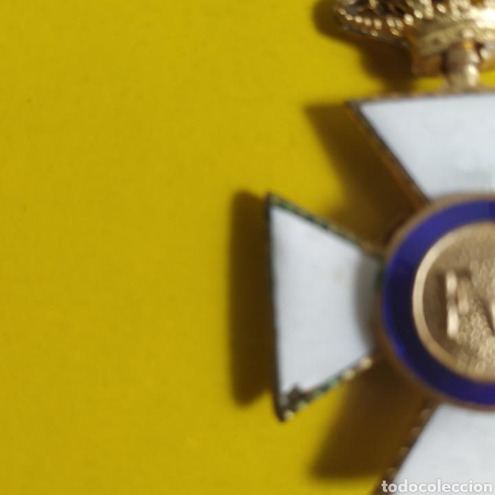 Militaria: Medalla de la real orden de San Hermenegildo.Premio a la constancia militar - Foto 6 - 175977279
