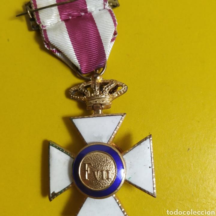 Militaria: Medalla de la real orden de San Hermenegildo.Premio a la constancia militar - Foto 7 - 175977279