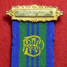 Militaria: ORIGINAL - GRAN LOGIA MASONICA INGLATERRA. MASON – CENTENARIO LOGIA 386 - RAOB. Lote 176003014
