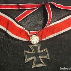Militaria: CRUZ DE CABALLERO CON HOJAS DE ROBLE EICHENLAUB RITTERKREUZ REICH HITLER FUHRER NSDAP NAZI. Lote 82347888