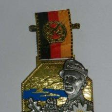 Militaria: MEDALLA WWII GENERAL DIETL, NARVIK 1940, (INVASIÓN DE NORUEGA). FABRICADA POR DESCHLER MÜNCHEN 90, L. Lote 176054473