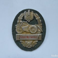 Militaria: WWII THE GERMAN BADGE KRAFTW. FÜHRER. Lote 176199537