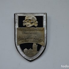 Militaria: WWII THE GERMAN BADGE SS OBERABSCHNITT NORDOST WINTERTAG DES SCHWARZEN KORPS. Lote 289734293