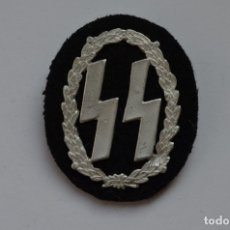 Militaria: WWII THE GERMAN BADGE WAFFEN SS. Lote 176203999