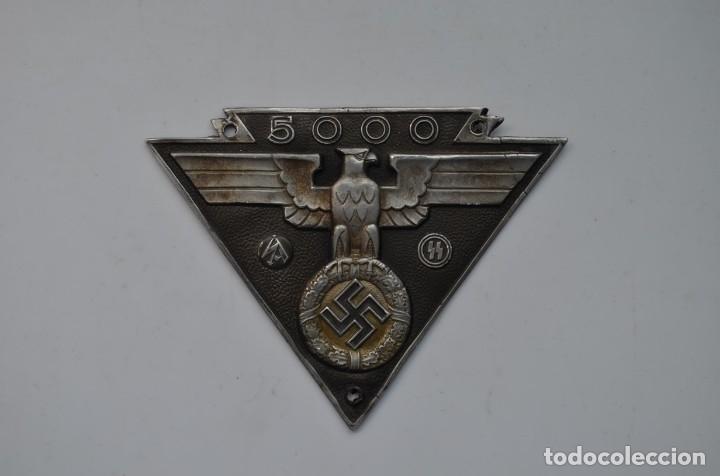 WWII THE GERMAN BADGE NSKK 5000KM MOTOR SS SA (Militar - Reproducciones y Réplicas de Medallas )