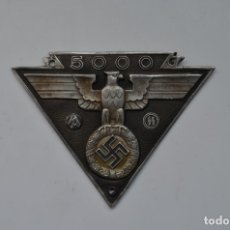 Militaria: WWII THE GERMAN BADGE NSKK 5000KM MOTOR SS SA. Lote 228069685