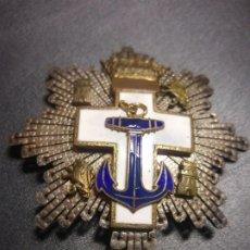 Militaria: PLACA DE LA ORDEN AL MERITO NAVAL. Lote 176343277
