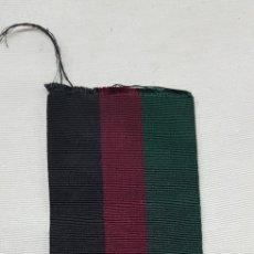 Militaria: CORTE DE CINTA DE MEDALLA. Lote 176447105