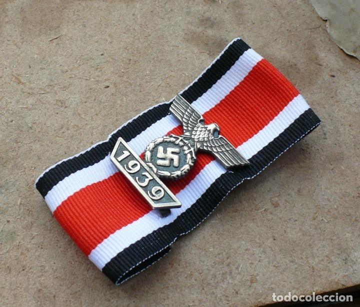 DIE SPANGE ZUM EISERNEN KREUZ 2 KLASSE. TERCER REICH. NAZI. (Militar - Reproducciones y Réplicas de Medallas )