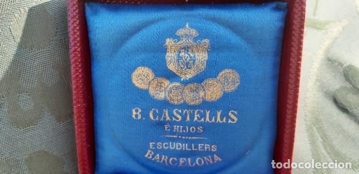 Militaria: Antigüa medalla Alfonso XII conmemorativa al ejército del norte, original de 1878 - Foto 4 - 176622193