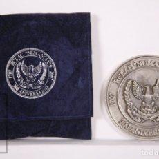 Militaria: MEDALLA 300 ANIVERSARIO DEL RCLAC NUMANCIA 9, 1707-2007. DRAGONES DE NUMANCIA / NOVENO DE CABALLERÍA. Lote 176641947