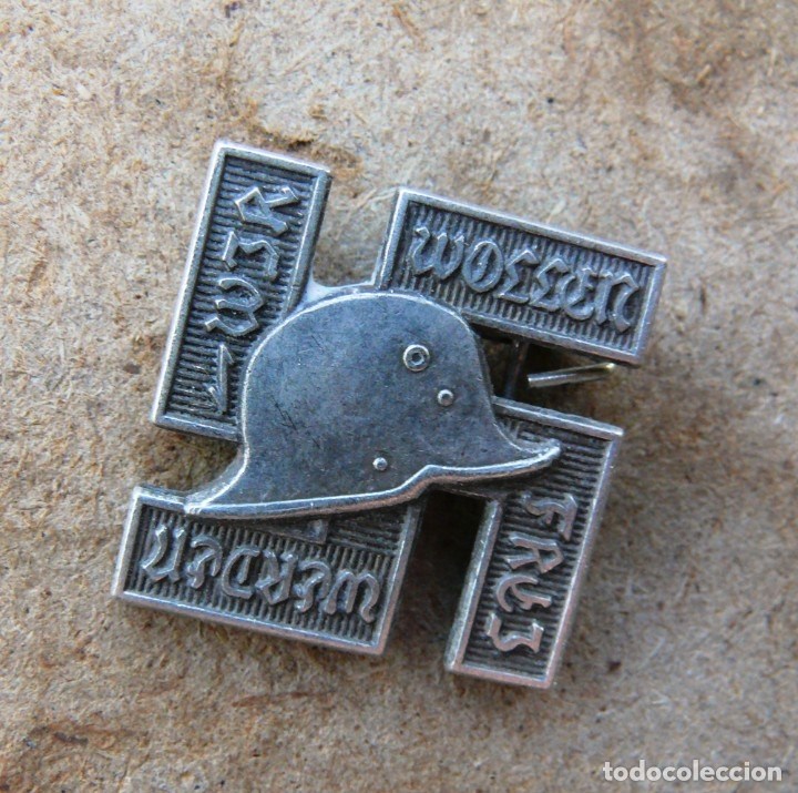 Militaria: insignia-pin waffen SS . tercer reich - Foto 6 - 176738949
