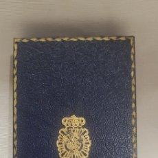 Militaria: CAJA DE MEDALLA DE LA POLICÍA NACIONAL. Lote 176756463