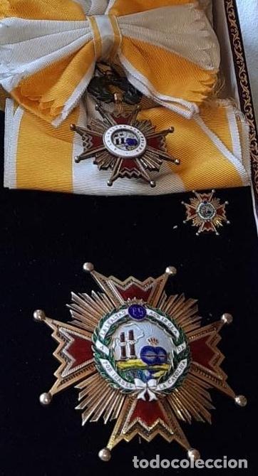 GRAN CRUZ ISABEL LA CATOLICA 1960 EPOCA DE FRANCO - CEJALVO (Militar - Medallas Españolas Originales )