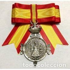 Militaria: ESTUPENDA MEDALLA DE LA VIRGEN DEL PILAR PARA DAMAS. Lote 176887749