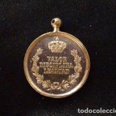 Militaria: MEDALLA ORIGINAL ALFONSO XII A LOS EJERCITOS EN OPERACIONES, PLATA, CARLISTAS. Lote 176902150