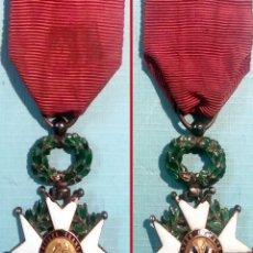 Militaria: CONDECORACION LEGION DE HONOR ESTABLECIDA PORNAPOLEON I EN 1804.ESMALTADA.. Lote 176946208