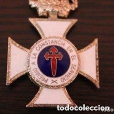 Militaria: CRUZ PREMIO A LA CONSTANCIA EN EL SERVICIO DE PLATA. Lote 177208787