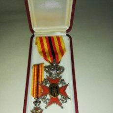 Militaria: MEDALLA ORDEN AL MÉRITO HISPANO - BELGA (ESPAÑA - BÉLGICA) FRANCO. Lote 177318157
