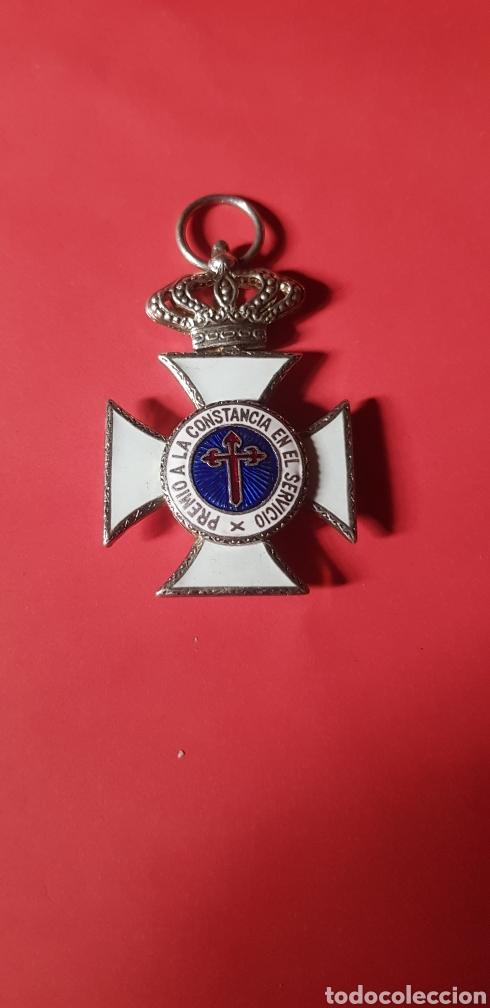 MEDALLA PREMIO A LA CONSTANCIA EN EL SERVICIO (Militar - Medallas Españolas Originales )
