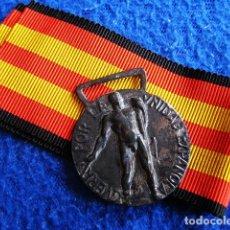 Militaria: MEDALLA ORIGINAL VOLUNTARIOS ITALIANOS GUERRA CIVIL ESPAÑOLA 1936-39 (CAMISAS NEGRAS). ÉPOCA FRANCO. Lote 177641037