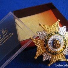 Militaria: PLACA PREMIO A LA CONSTANCIA MILITAR, ORDEN DE SAN HERMENEGILDO. ÉPOCA DE FRANCO.. Lote 177653742